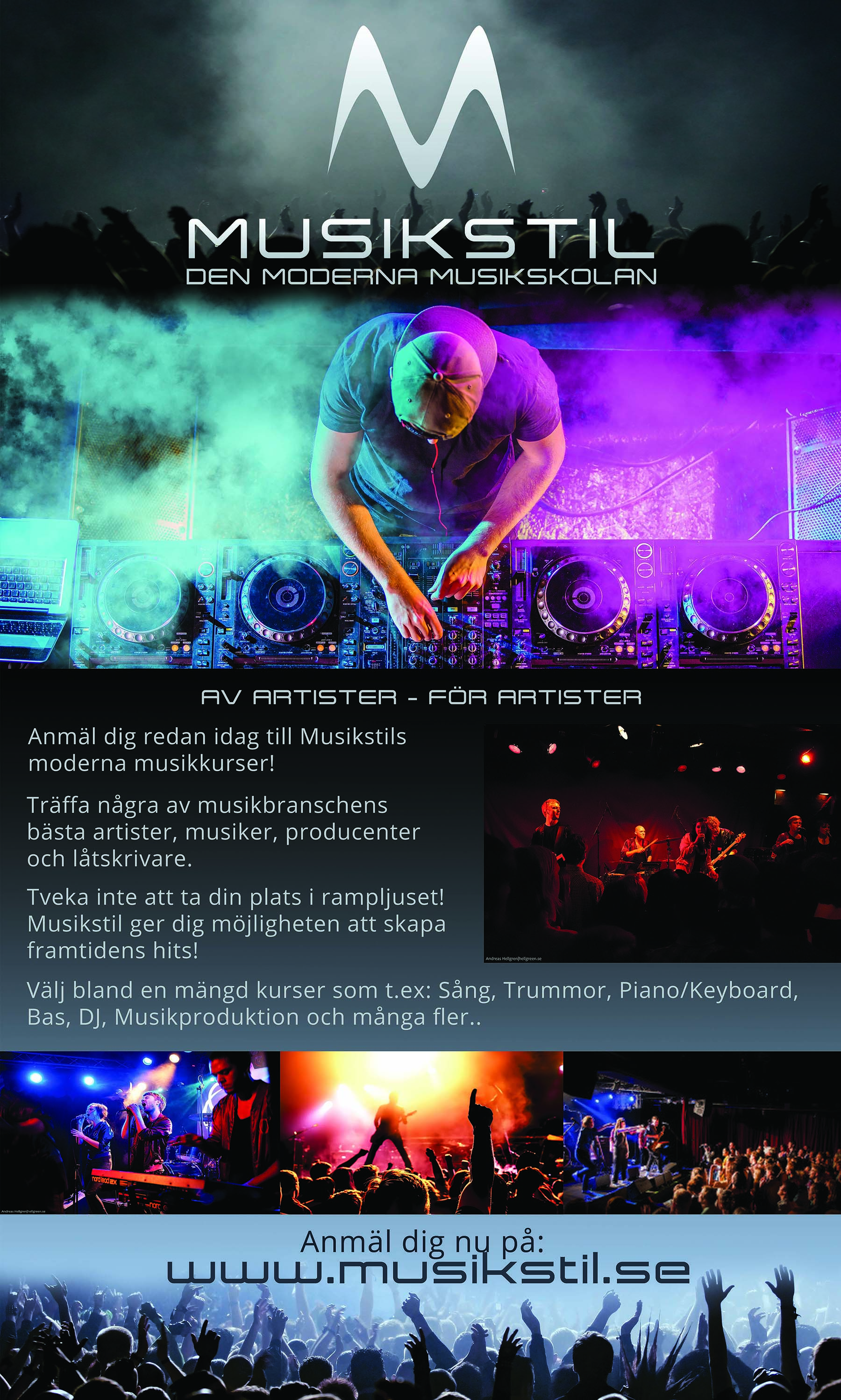 Musikstil Concert Roll-Up